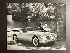 1960 MGA 1600 Showroom Advertising Sales Sheet / Brochure RARE!! Awesome L@@K
