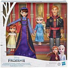 Disney Frozen 2 Arendelle ROYAL FAMILY 4-Doll Exclusive Set NIB/Sealed Anna