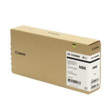Genuine Canon PFI1700MBK Matte Black Pigment Ink(700ml) for imagePROGRAF PRO2000