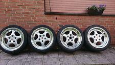 PORSCHE 911/964 965 RS TURBO ORIGINAL 18 ZOLL SPEEDLINE FELGEN MIT BEREIFUNG