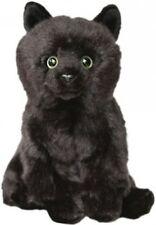 "Faithful Friends Black 12"" Soft Toy Cat/Kitten"