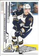 ALEXANDER BURMISTROV 2010-11 Pinnacle ICE BREAKERS Rookie Card RC #207