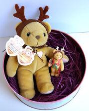 Cherished Teddies * Holiday Gift Set mit Rodney *  NEU - 1999 (Retiered 1999)