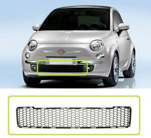 Fiat 500 2007-2015 Front Bumper Lower Radiator Grille Centre TRIM NEW 735455043