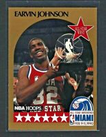 Earvin Johnson Lakers 1990 Hoops All-Star #18 Los Angeles Lakers