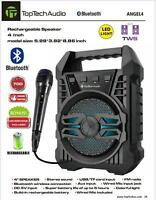 Fully Powered 700 Watts Bluetooth Portable Multimedia Speaker - FREE MICROPHONE