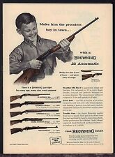 1961 BROWNING .22 Automatic, Superposed Auto-5, Double Shotgun~High Pwr Rifle AD