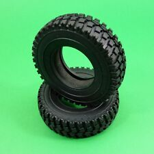 Wide Mud tyres tires for Tamiya Hercules 1:14 RC Prime Mover Tractor Trailer