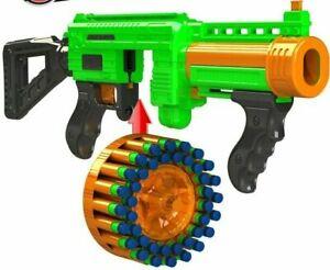 Adventure Force Villainator Submachine Dart Blaster Toy Gun