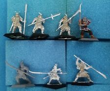 7 Polearm w/ Scorpion, Mantis — Clan War L5R Legend of the Five Rings samurai