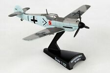 """POSTAGE STAMP (PS5336-5) BF-109 """"ADOLPH GALLAND"""" 1:87 SCALE DIECAST METAL MODEL"""