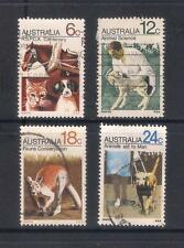 (UXAU007) AUSTRALIA 1971 Centenary of RSPCA fine used complete set