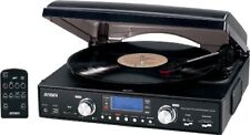 Jensen Digital 3-speed Stereo Turntable With Mp3 Encoding & Am/fm Receiver -