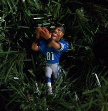 Calvin Johnson DETROIT LIONS Christmas tree ornament NFL football figure xmas