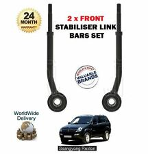 FOR SSANGYONG REXTON RX270 RX290 RX320 2003->NEW 2 X FRONT STABILISER LINK BARS