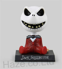 "Bobble Head Jack Skellington Figure Model Kids Collection with Box 4"""
