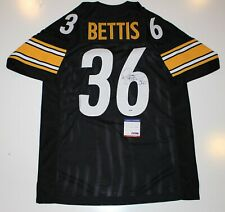 dc7d087962c JEROME BETTIS SIGNED PITTSBURGH STEELERS THROWBACK JERSEY PSA/DNA AUTHENTIC  COA