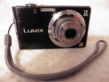 Panasonic LUMIX DMC-FS16 Black Digital Camera 14MP w/ LEICA LENS MAIN UNIT ONLY