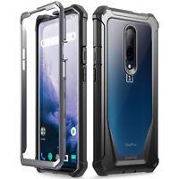 OnePlus 7 Pro (2019),Poetic® [Ultra Hybrid] Bumper Shockproof Cover Case Black