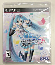 Hatsune Miku: Project Diva F 2nd (Sony Playstation 3, 2014) NEW PS3