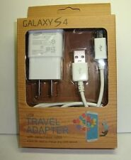 Samsung Galaxy S2 S3 S4 Micro USB Data Cable + Home Wall Charger