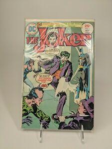 The Joker #1 1975 DC Comics 1st Solo Titled Series Two-Face Penguin Riddler