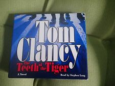 Tom Clancy The Teeth of the Tiger  Audio CD