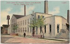 South Center Street Foundry of Malleable Iron Co. in Beaver Dam WI Postcard