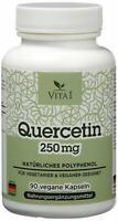 Quercetin 90 Kapseln  Antioxidantien hochdosiert 250mg Hergestellt in Deutschlan