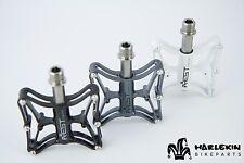 Ligero AEST Magnesio/Titan MTB pedales de plataforma 165g