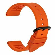 Sport Watch Strap Pin Buckle Rubber Band Bracelet For Seiko Citizen Accessories