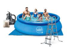 Quick Up Pool Set 457 x 122 cm mit Filter Leiter Schwimmbecken Planschbecken