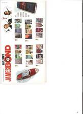 2008 ROYAL MAIL PRESENTATION PACK JAMES BOND 007 PACK 407 MINT DECIMAL STAMPS
