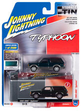 2020 Johnny Lightning *STORAGE TIN* Forest Green 1992 GMC Typhoon Blazer *NIP*