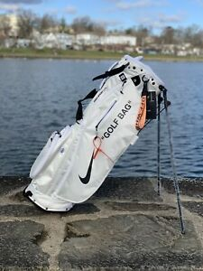 Nike Sport Lite Golf Bag Off White - nice w/ your Jordans Vapor Max Driver Irons