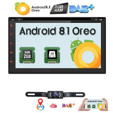 """7"""" Android 8.1 2din Car DVD Audio Video Player Stereo Map/GPS/Radio Reverse Cam"""