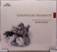 Europäische Weihnachten + CD + Knabenchor Hannover + Weihnachtslieder + NEU +