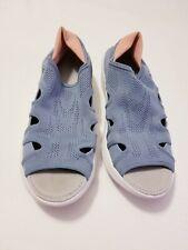 B Zees 9.5M Boardwalk Gray Peach Naturalizer Womens Tennis Sneaker Sandal Shoes
