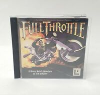 Full Throttle (PC, 1995) w/ Manual (Mint Disc) LucasArts PC GAME