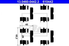Zubehörsatz, Scheibenbremsbelag für Bremsanlage Vorderachse ATE 13.0460-0442.2