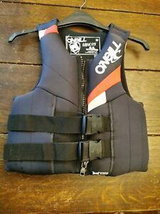 O'Neill reactor vest 8-9 years 2XS buoyancy aid floatation jacket crash vestVGC