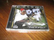 NITRO - Welcome to the Jungle Rap CD - Lil Jon Eastside Boyz Quint Black - 2001