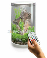 biOrb TUBE 30L WHITE MCR LED AQUARIUM LIGHTING FILTER ALL-IN-ONE FISH TANK