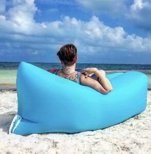 Knapbag Inflatable Couch Sofa Bed Lounger Chair Great For Beach Concerts Camping