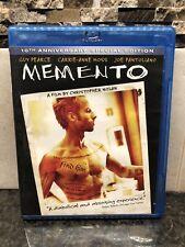 Memento (Blu-ray Disc, 2011) Christoper Nolan Guy Pearce Carrie Anne Moss