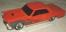 Ponctiac 1965 GTO orange hotwheels 1/64 Hot Wheels muscle car hot rod dragster