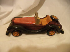 """Vintage Collect Handmade Realistic Classic  Wooden Car Model Toy Decor Gift 10"""""""