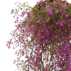 Artificial Fake Flower Vine Hang Garland Plant Home Garden Wedding Decor