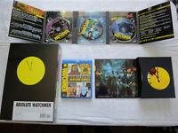 Absolute Watchmen HC Sealed! + WatchmenThe Ultimate Cut (Blu-ray 4 Disc Set)