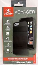 "NEW!!! Pelican Progear Voyager Case w/ Holster for iPhone 6 / 6s (4.7"") - Black"